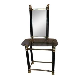 Mid-Century Vanity & Hanging Mirror