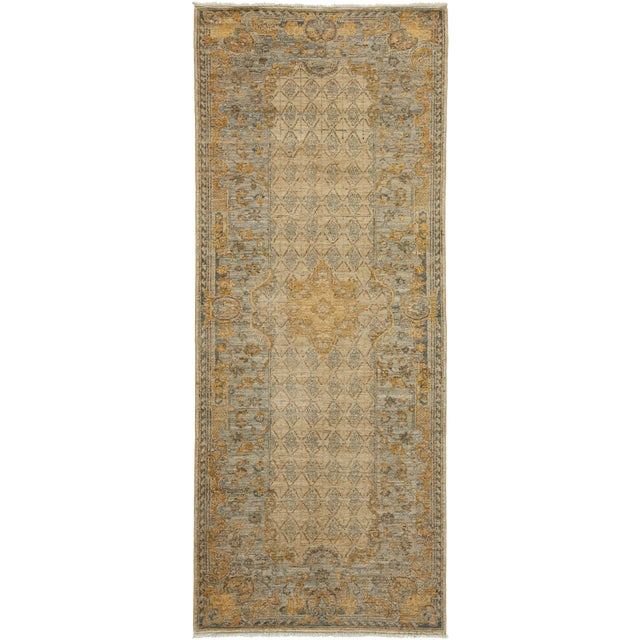 "Image of Traditional Hand Knotted Runner - 3'2"" X 7'10"""