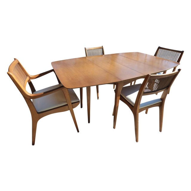 vintage john van koert for drexel dining set chairish