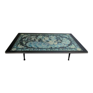 Vintage Asian Folding Coffee Table