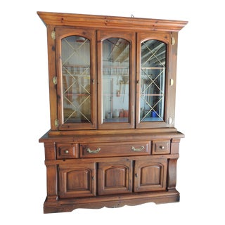 Early American China Cabinet