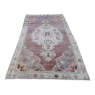 Vintage Turkish Anadol Rug - 4′7″ × 8′6″