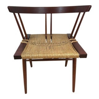 George Nakashima Grass Seat Chair