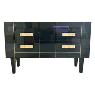 Black Mirrored Console