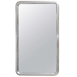 Louis Philippe Style Modernist Steel Mirror