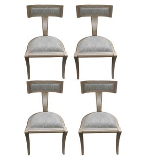 Vanguard Furniture Greek Peak Harmonious Mist Side Chairs - Set of 4