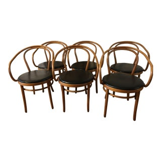 Thonet Bentwood Dining Chairs - Set of 6