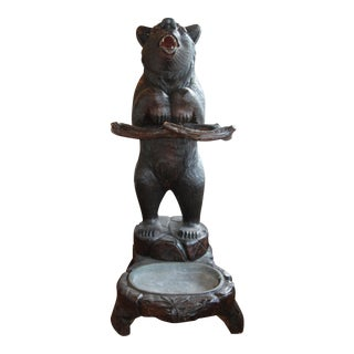 Black Forest Bear Umbrella Stand