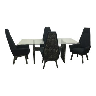 Adrian Pearsall Brutalist Dining Set