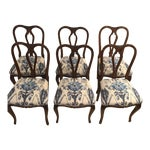 Image of Antique French Dining Chairs - Set of 6