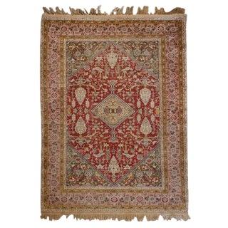 Wonderful Early 20th Century Silk Kayseri Rug