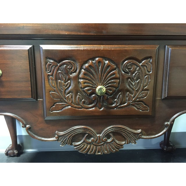 Davis Queen Anne-Style Ball & Claw Highboy - Image 5 of 11