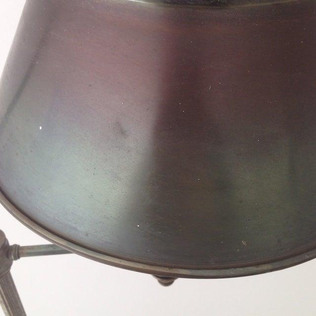 Bronze Colored Tole Floor Lamp - Image 7 of 11