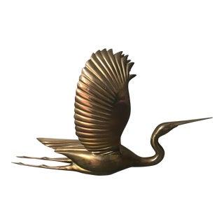 Vintage Avanti Brass Bird in Flight Figure