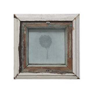 Tony Brown Drawing in Distressed Frame
