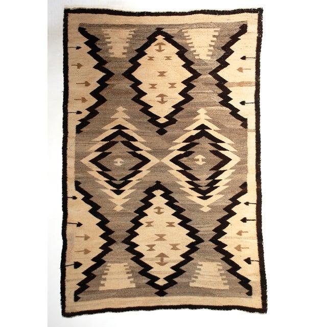 Antique Navajo Rug 2 10 215 4 6 Chairish