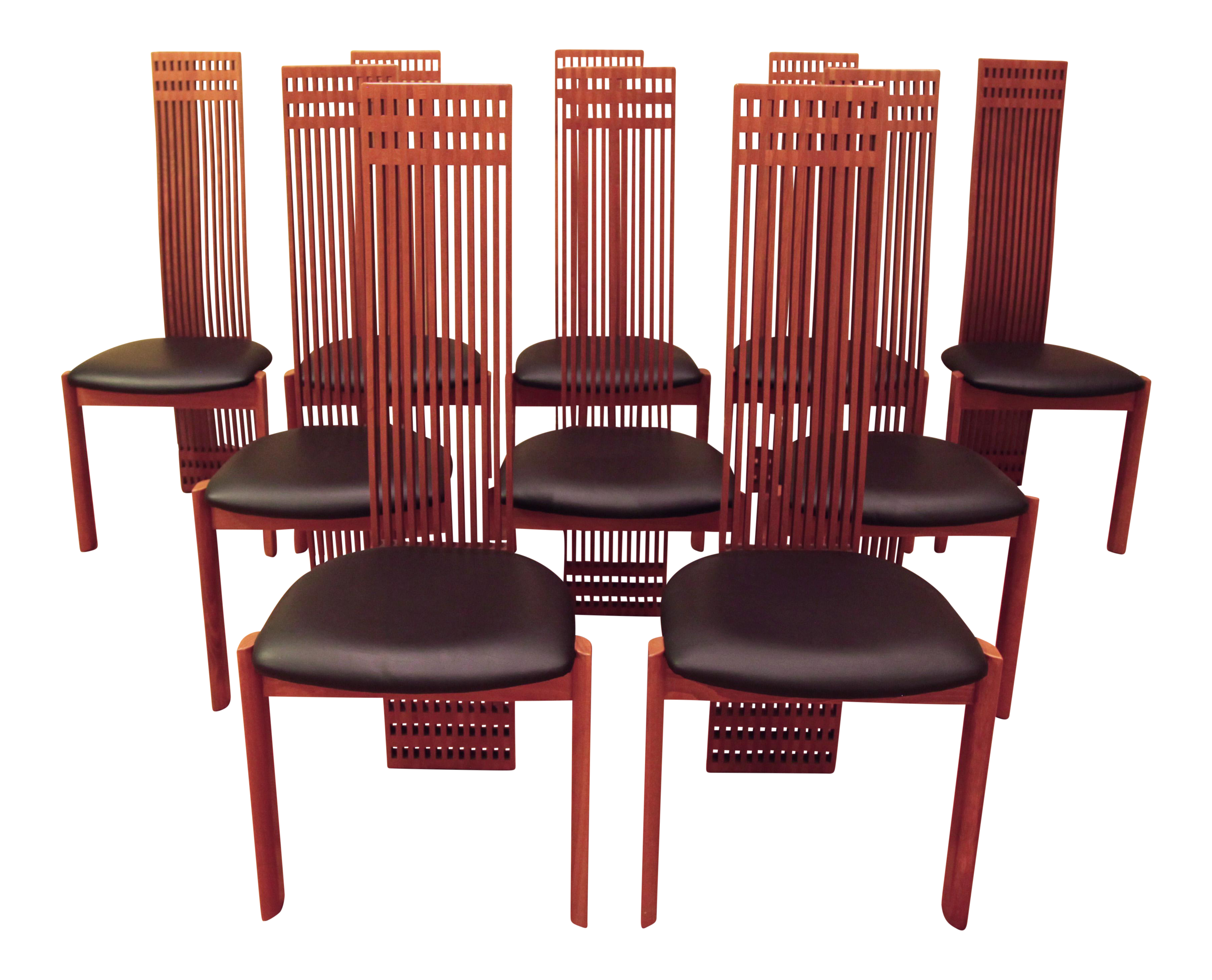 Maurice Villency Dining Chairs   Set Of 10   Image 1 Of 7