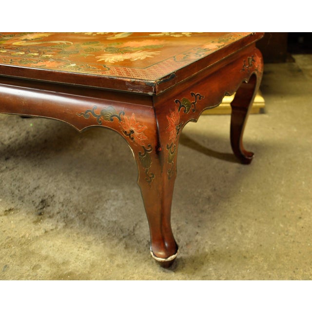 Vintage Asian Style Coffee Table - Image 6 of 8