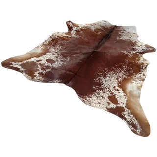 Gambrell Renard Classic Cowhide Rug - 7′1″ × 7′5″