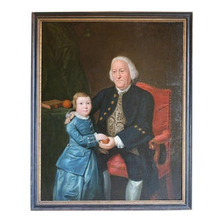 Large 18th Century Double Portrait