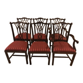 Councill Chippendale Dining Chairs - Set of 6