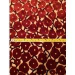 Image of Velvet Red Berry Fabric