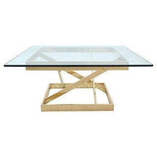 Mid Century Modern Geometric Coffee Table