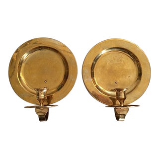 Gatco Vintage Solid Brass Candle Sconces - A Pair