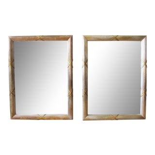 Directoire Style Mirrors - A Pair