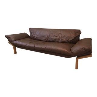 Danish Komfort Mid-Century Modern Leather Couch