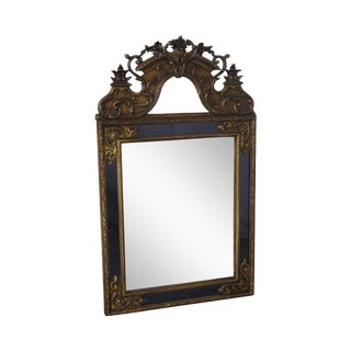 Antique Louis XV Style Giltwood & Carved Gesso Mirror