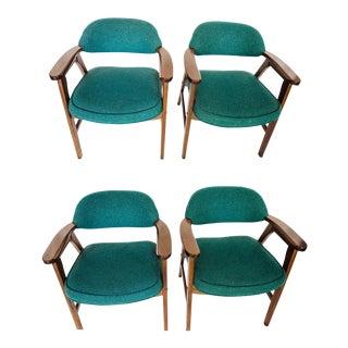 Mid-Century Modern Armchairs- Set of 4