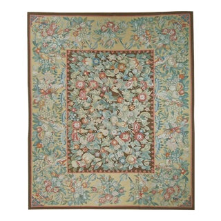 """Pasargad Aubusson Hand Woven Wool Rug - 10' 1"""" X 13' 7"""""""