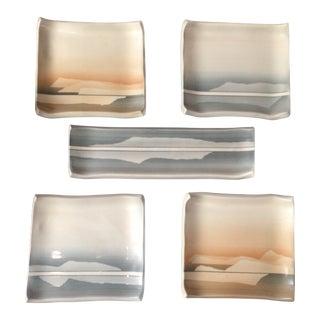 Fran Hogan Art Pottery Set