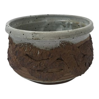 Henderson Brutalist Round Planter Bowl