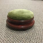 Image of Antique Upholstered Foot Stool