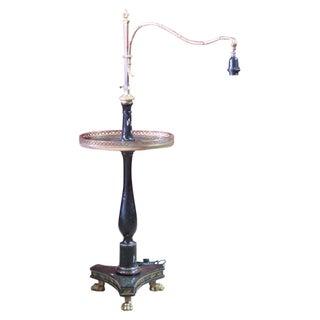 Jansen Style Chinoiserie Painted Floor Lamp
