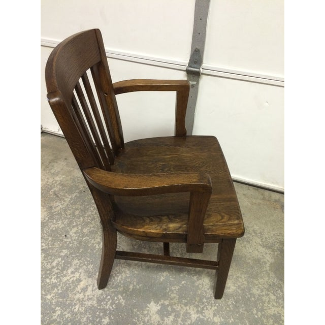 Early 1900s Milwaukee Chair Co Bankers Chair Chairish