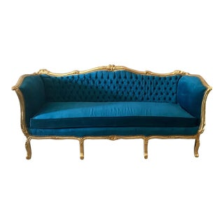 French Louis XVI Style Sofa/Settee/Couch