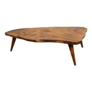 Vintage Monkey Wood Coffee Table