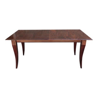 Mahogany Extension Dining Table