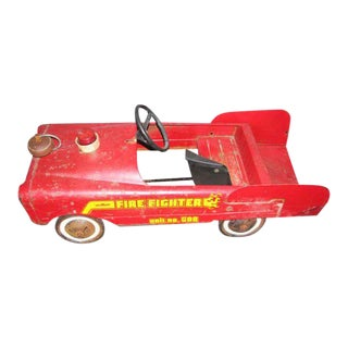 Vintage AMF Fire Engine Car