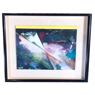 Framed Abstract Mixed Media by Celia Rumsey