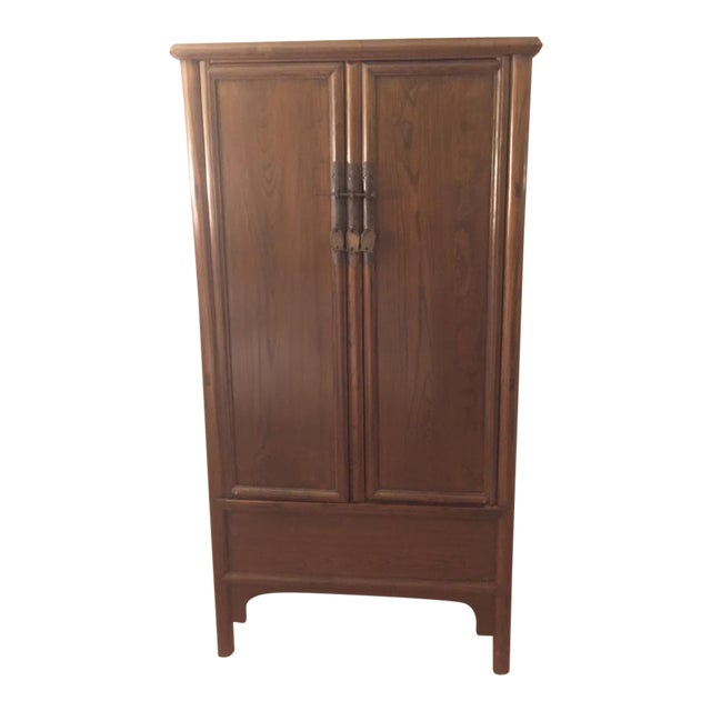 Chinese Ming-Style Armoire Cabinet - Image 1 of 6
