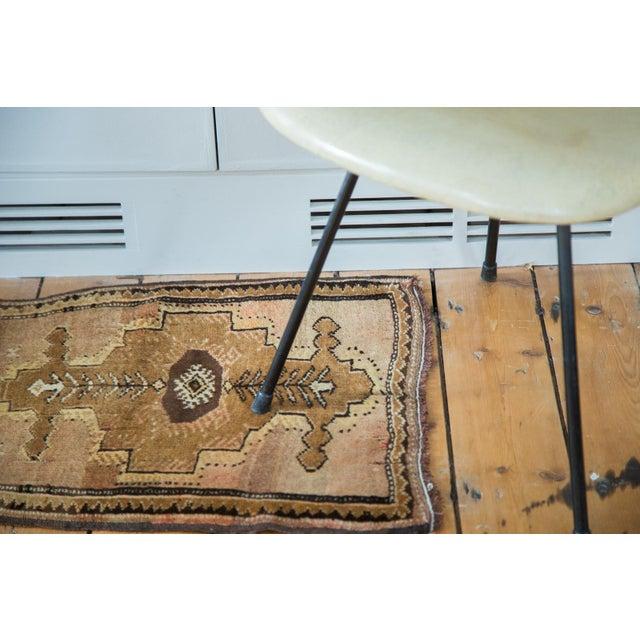"Vintage Oushak Square Rug Mat - 1'10"" X 2' - Image 5 of 7"