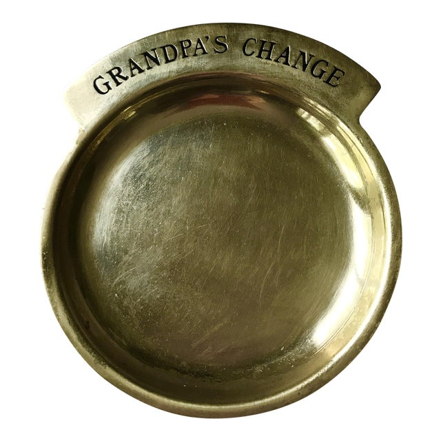 Vintage Brass Coin Dish - Image 1 of 4