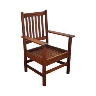 Stickley Antique Mission Oak Armchair