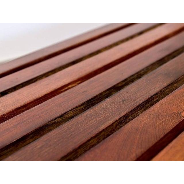 Modern Slat Bench - Image 7 of 7