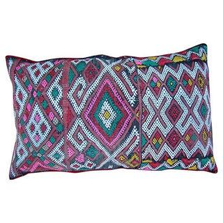 Boho Chic Berber Pink Pillow Cover