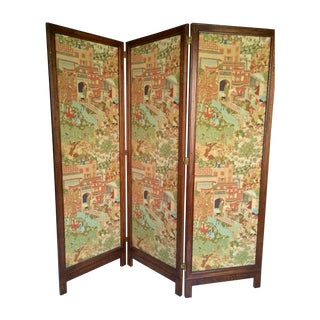 Fabric Covered Room Divider